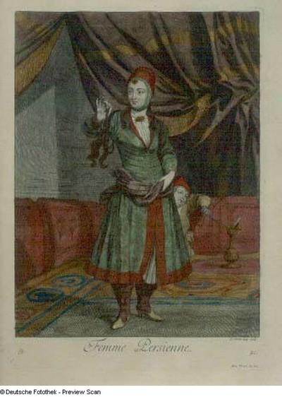 Femme Persienne - Perserin, Tafel 91