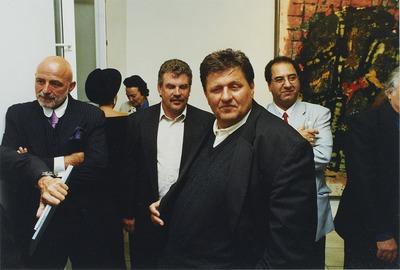 Markus Lüpertz und Michael Schultz