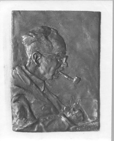 Bildnis eines pfeiferauchenden Mannes