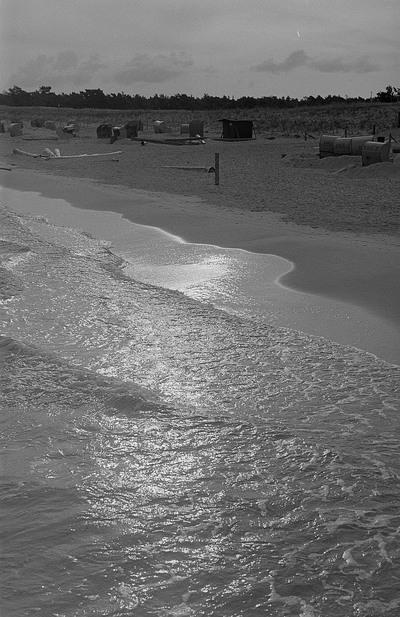 Blick auf den Prerower Strand