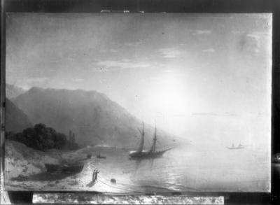 Krimküste, Sonnenaufgang mit Ajudag