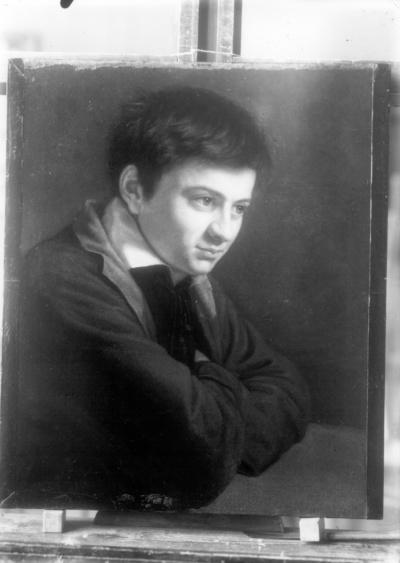 Bildnis des Malers Adolf Zimmermann