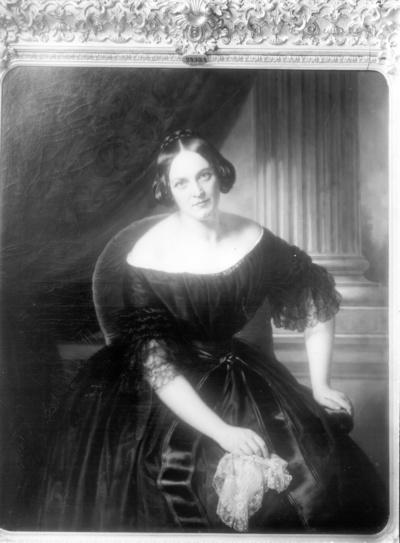 Bildnis der Hofopernsängerin Wilhelmine Schroeder-Devrient