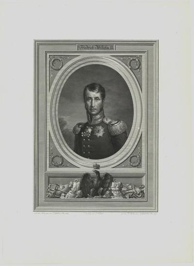Porträt von Friedrich Wilhelm III. von Preußen