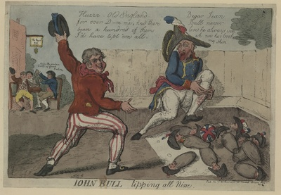 Sieg Englands über Napoleon