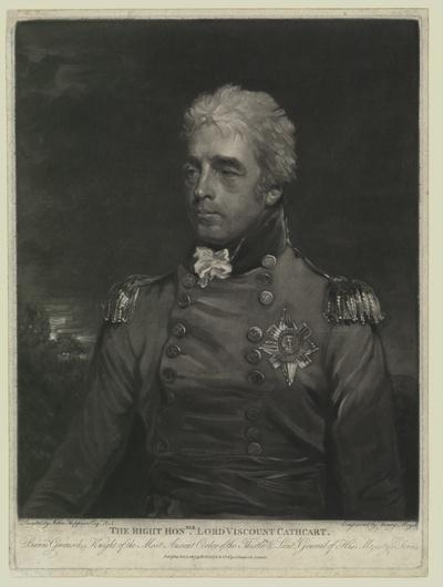 Porträt von William Schaw Cathcart