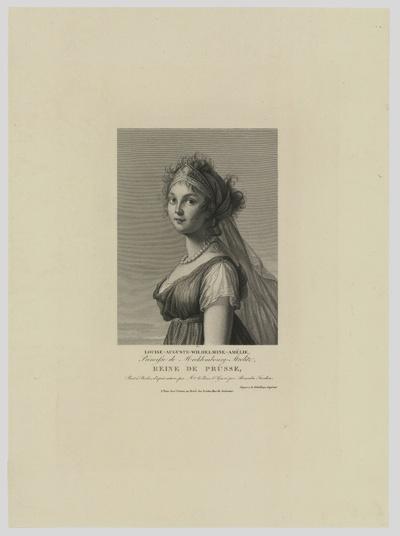 Porträt von Luise zu Mecklenburg-Strelitz