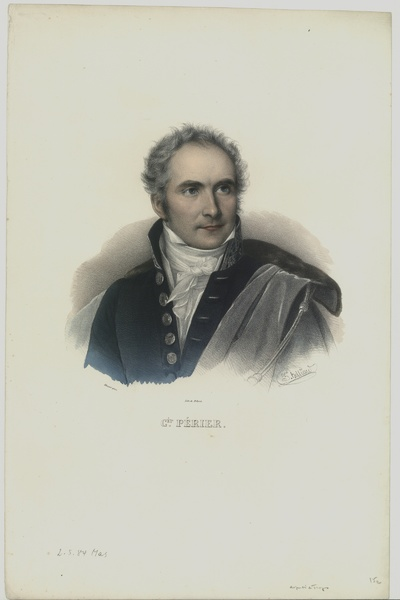 Porträt von Casimir Périer