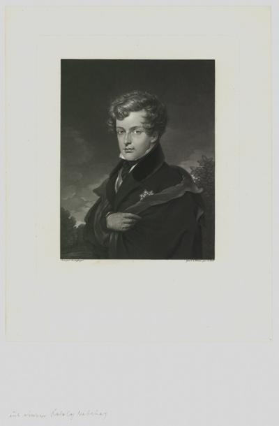 Porträt von Napoleon Franz Bonaparte