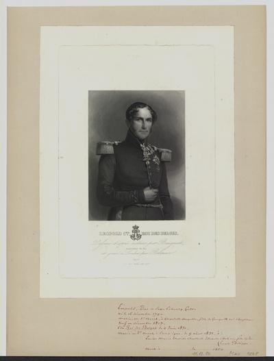 Porträt von Leopold I. - Georg Christian Friedrich von Belgien