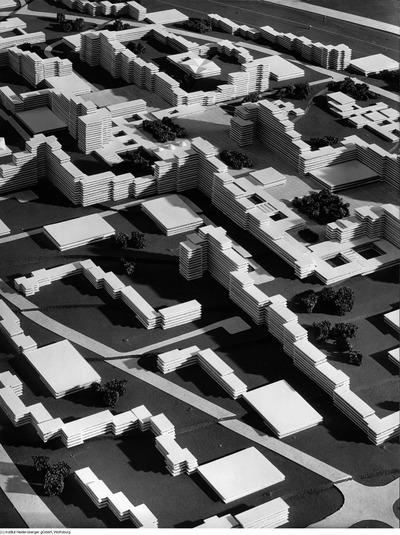 Modell und Plastik Westhagen, Planungsgemeinschaft Niedersächsische Heimstädte