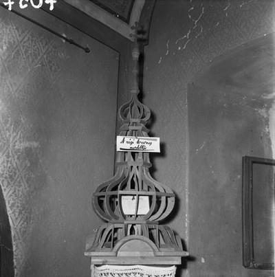 A régi torony modellje