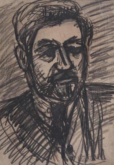 Kernstok Károly portréja