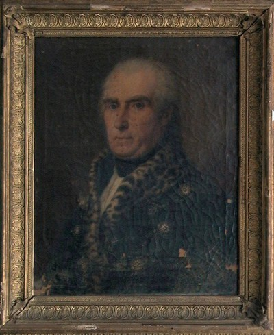 Férfi portré: Kovásznai Kováts Mojzes
