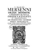 Image from object titled Quaestiones celeberrimae in Genesim, cum accurata textus explicatione : in hoc volumine athei, et deistae impugnantur & expugnantur, & vulgata editio....  2