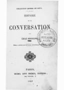 Image from object titled Histoire de la conversation / par Émile Deschanel