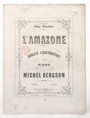 Image from object titled L. Amazone, morceau caractéristique pour piano op. 68