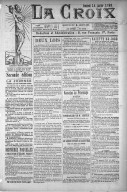 Image from object titled La Croix - 1898-01-14