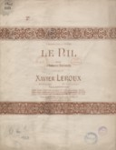 Image from object titled Le Nil. N° 2 [Chant et piano] avec accompagnement de violon. Poésie de Armand Renaud. Musique de Xavier Leroux