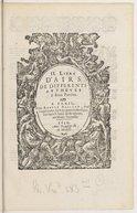 Image from object titled II. livre d'airs de differents autheurs à deux parties
