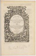 Image from object titled III. livre d'airs de differents autheurs, à deux parties