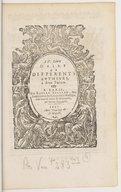 Image from object titled IV. livre d'airs de différents autheurs à deux parties