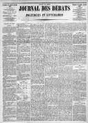 Image from object titled Le Journal des Débats politiques et littéraires - 1885-01-02