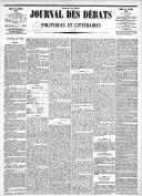 Image from object titled Le Journal des Débats politiques et littéraires - 1885-01-20