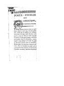 Image from object titled Porte-feuille du concile catholique, trouvé par un théophilantrope ([Reprod.]) / [signé : Denis]