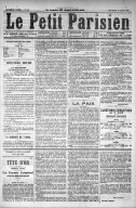 Image from object titled Le Petit Parisien - 1878-04-10