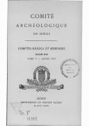 Image from object titled Comptes-rendus et mémoires / Comité archéologique de Senlis