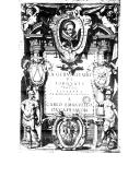Image from object titled La Gerusalemme liberata ([Reprod.]) / di Torquato Tasso ; con le annotationi di Scipion Gentili, e di Giulio Guastavini ; et li argomenti di Oratio Ariosti ; [figurata da Bernardo Castello]
