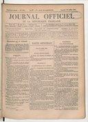Image from object titled Journal officiel de la République française. Lois et décrets
