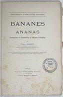 Image from object titled Bananes et ananas : production et commerce en Guinée française / par Yves Henry,... ; avec la collaboration de M. P. Ammann,... et de M. P. Teissonnier,...