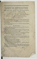 Image from object titled Projet de réformation du Code hypothécaire, présenté à la Commission consulaire-exécutive et aux Commissions législatives , par le cit. Cardin,...