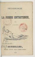 Image from object titled Physiologie de la femme entretenue / par Arago