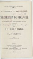 Image from object titled Oeuvres complètes de P.-J. Proudhon. Tome 2