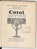 Image from object titled Corot / [sous la dir. de Henri Roujon [sic]