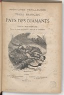 Image from object titled Aventures périlleuses de trois français au pays des diamants / par Louis Boussenard ; illustrées de dessins par Férat ; gravés par D. Dumont