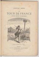 Image from object titled Le tour de France d'un petit Parisien / Constant Améro ; éd. ill. par J. Ferat