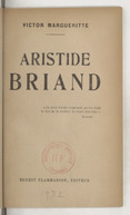 Image from object titled Aristide Briand / Victor Margueritte