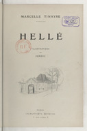 Image from object titled Hellé / Marcelle Tinayre ; Illustrations de Jordic