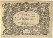 Image from object titled Second livre des airs à III. IIII. V. et VI. parties de Cl. Le Jeune. Compositeur de la Musique de la Chambre du Roy