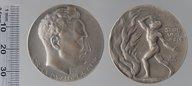 Dr Ludwig Frank 3 sept. 1914 : Médailles et décorations / Elkan, Benno (1877-1960)