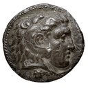 [Monnaie : Tétradrachme, Argent, Memphis, Égypte, Ptolémée I Sôter]