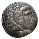 [Monnaie : Tétradrachme, Argent, Memphis, Égypte, Séleucos I Nicator]