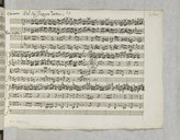 Image from object titled Concerto n°23 pour violon et orchestre (manuscrit autographe) / del Sigr Giuseppe Tartini