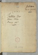 Image from object titled Jubilate Deo // omnis terra Pseaume 99e (manuscrit autographe)