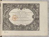 Image from object titled Second livre, contenant cinquante pseaumes de David, mis en musique a III parties par Claud. Le Jeune,...
