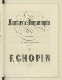 Image from object titled Oeuvres posthumes pour piano / de Fréd. Chopin ; publiés sur manuscrits originaux avec autorisation de sa famille par Jules Fontana